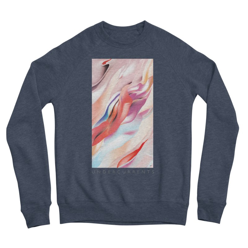UNDERCURRENTS Women's Sponge Fleece Sweatshirt by mu's Artist Shop