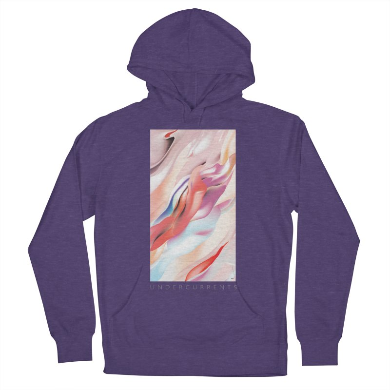 UNDERCURRENTS Men's French Terry Pullover Hoody by mu's Artist Shop