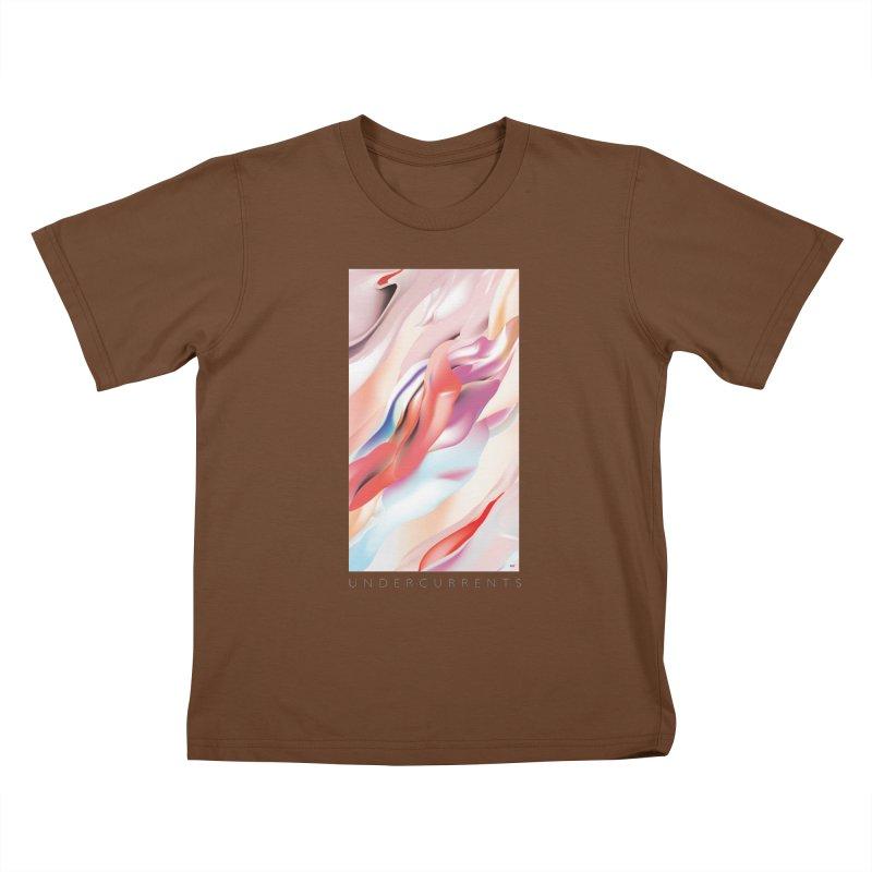 UNDERCURRENTS Kids T-Shirt by mu's Artist Shop