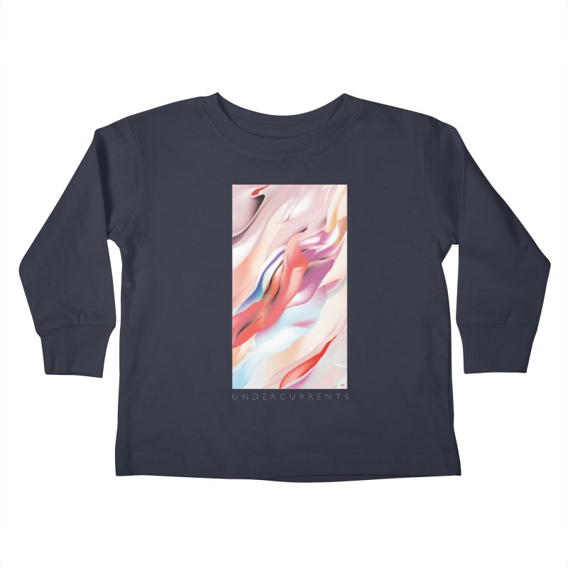 UNDERCURRENTS Kids Toddler Longsleeve T-Shirt by mu's Artist Shop