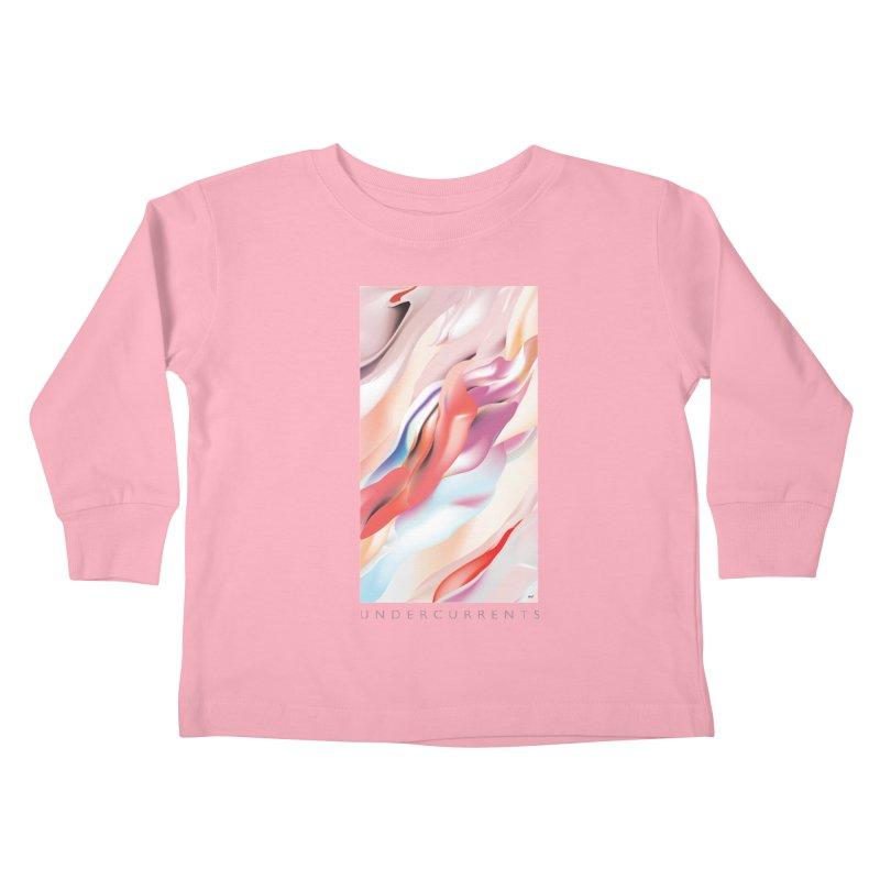 UNDERCURRENTS Kids Toddler Longsleeve T-Shirt by mu's Artist Shop