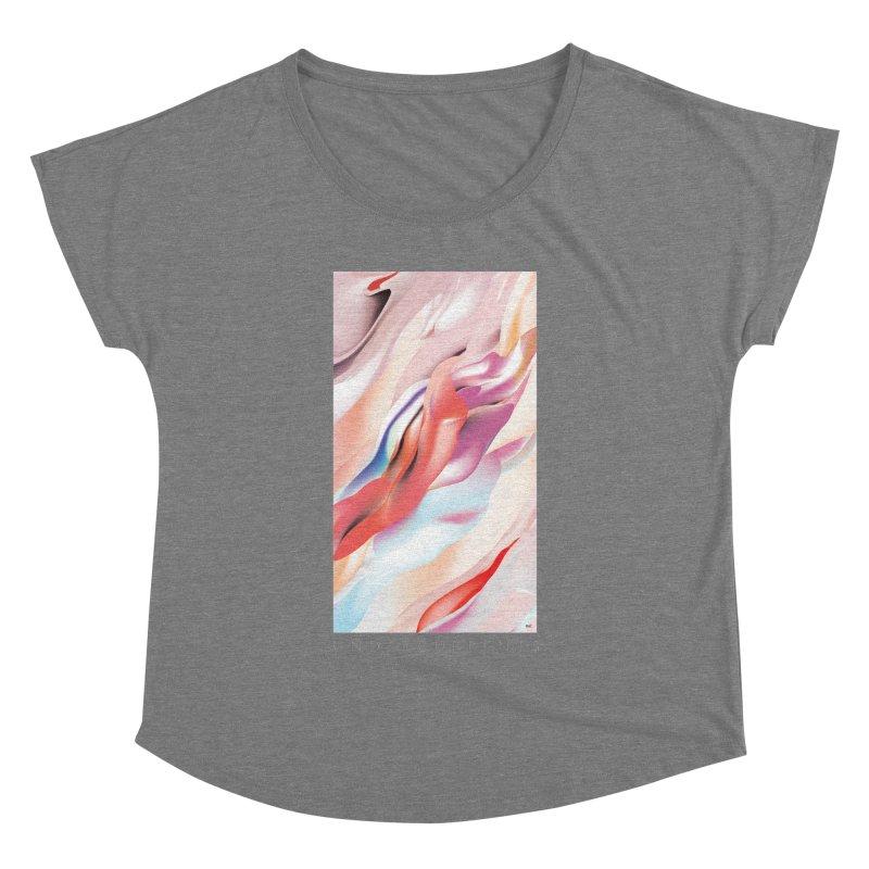 UNDERCURRENTS Women's Dolman Scoop Neck by mu's Artist Shop