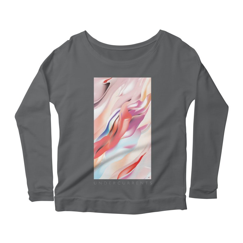 UNDERCURRENTS Women's Scoop Neck Longsleeve T-Shirt by mu's Artist Shop