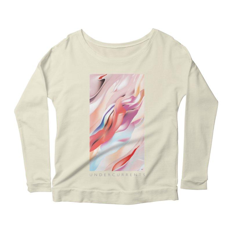 UNDERCURRENTS Women's Scoop Neck Longsleeve T-Shirt by mu's Artist Shop