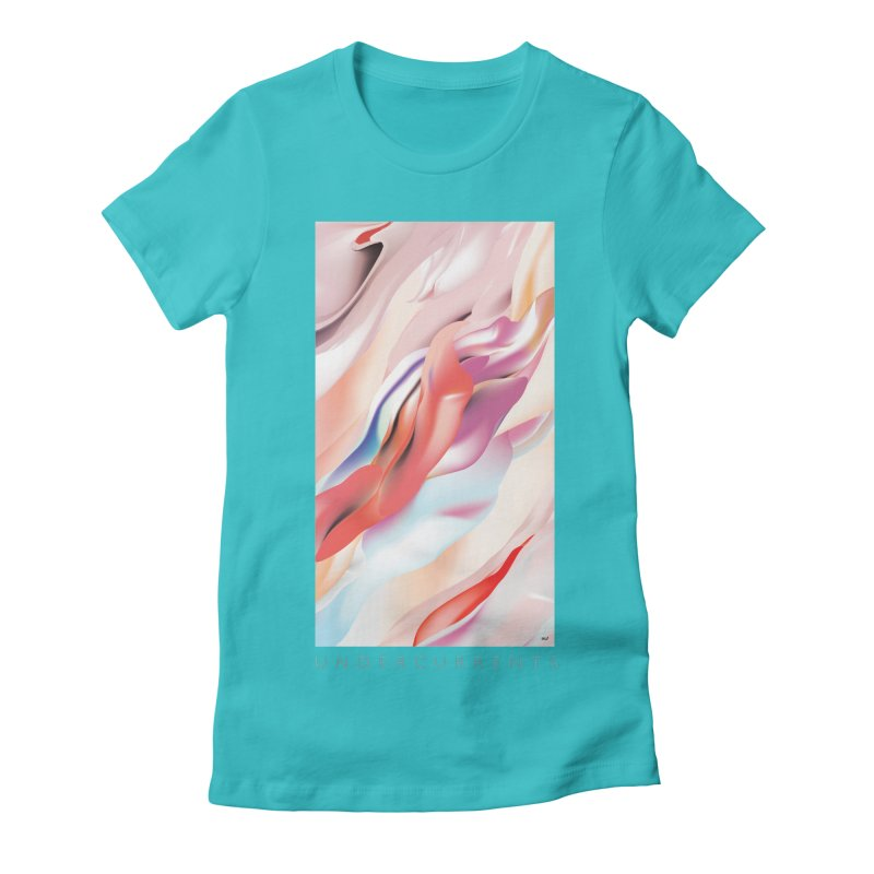 UNDERCURRENTS Women's Fitted T-Shirt by mu's Artist Shop