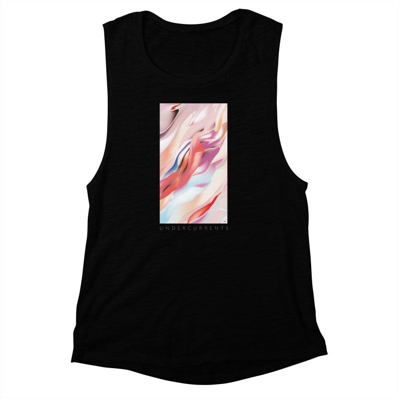 UNDERCURRENTS Women's Muscle Tank by mu's Artist Shop