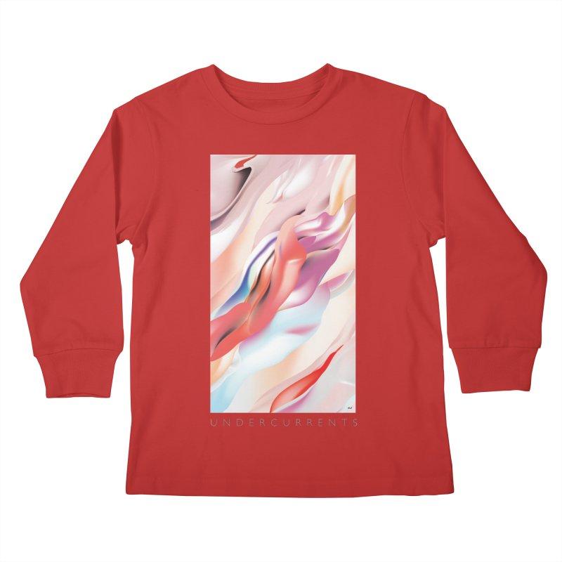 UNDERCURRENTS Kids Longsleeve T-Shirt by mu's Artist Shop