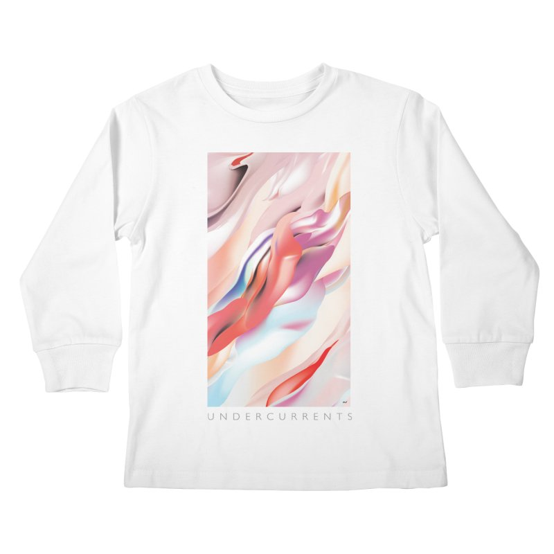 UNDERCURRENTS Kids Longsleeve T-Shirt by mu's Artist Shop