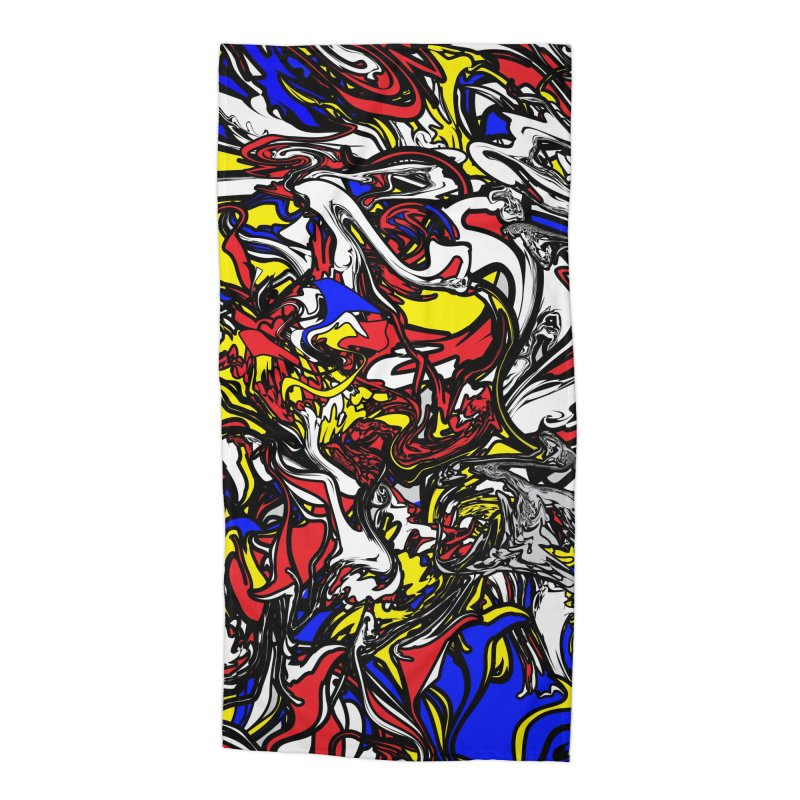 A MONDRIAN PARADOX Accessories Beach Towel by mu's Artist Shop