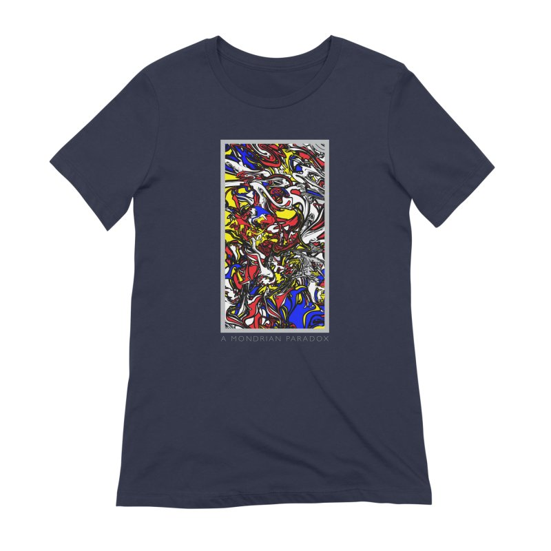 A MONDRIAN PARADOX Women's Extra Soft T-Shirt by mu's Artist Shop
