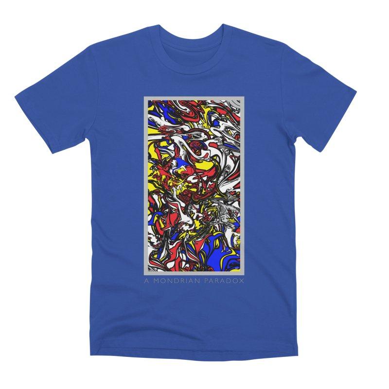 A MONDRIAN PARADOX Men's Premium T-Shirt by mu's Artist Shop