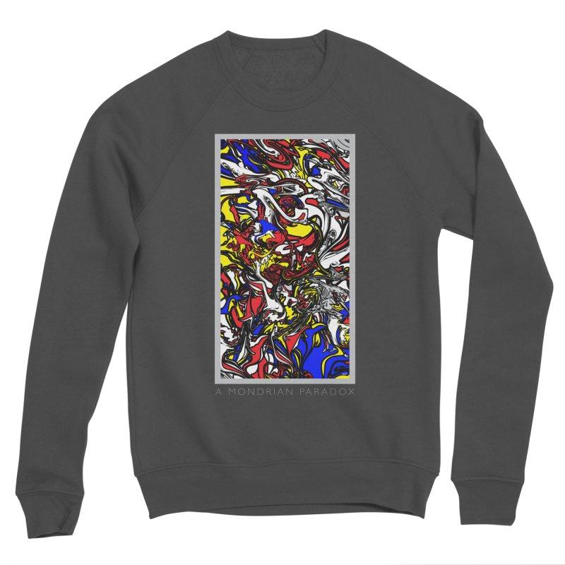 A MONDRIAN PARADOX Men's Sponge Fleece Sweatshirt by mu's Artist Shop
