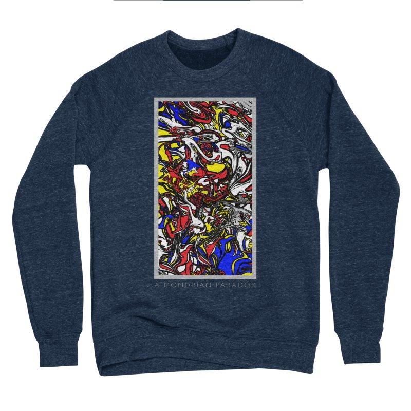 A MONDRIAN PARADOX Women's Sponge Fleece Sweatshirt by mu's Artist Shop