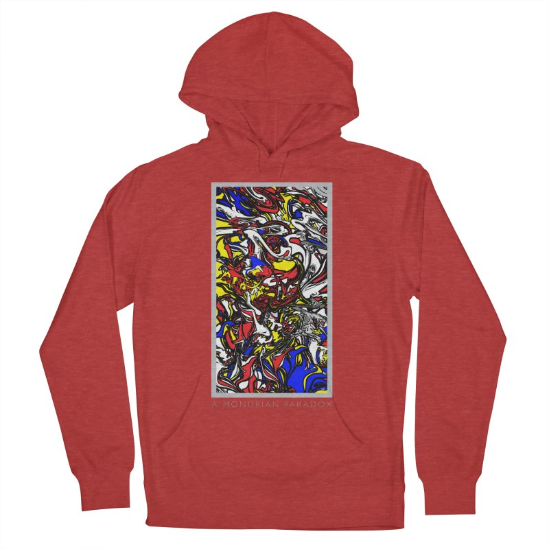 A MONDRIAN PARADOX Women's French Terry Pullover Hoody by mu's Artist Shop