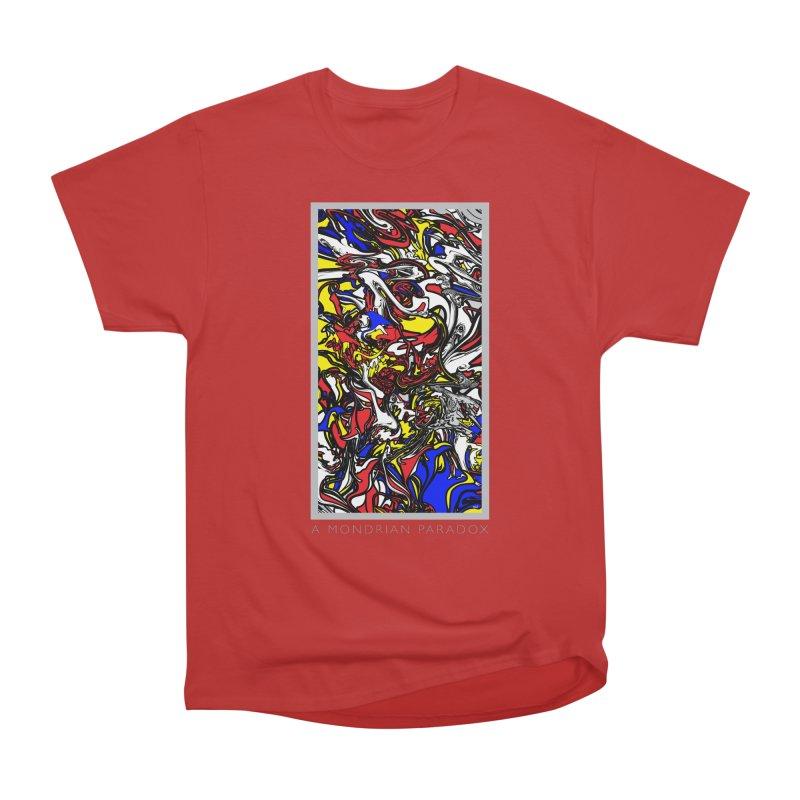 A MONDRIAN PARADOX Men's Heavyweight T-Shirt by mu's Artist Shop