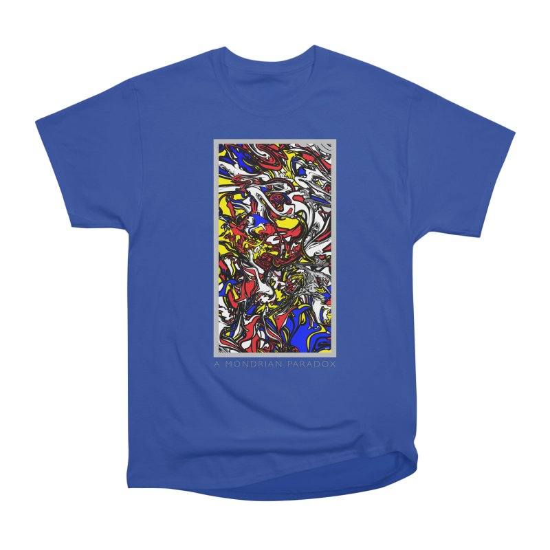 A MONDRIAN PARADOX Men's Heavyweight T-Shirt by mu's Artist Shop
