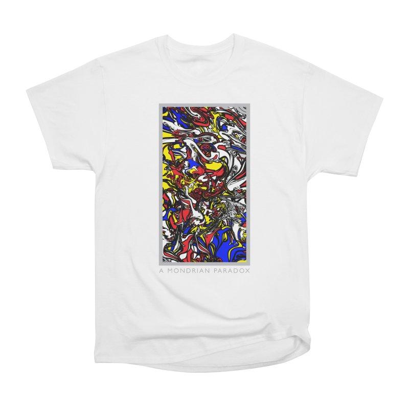 A MONDRIAN PARADOX Women's Heavyweight Unisex T-Shirt by mu's Artist Shop