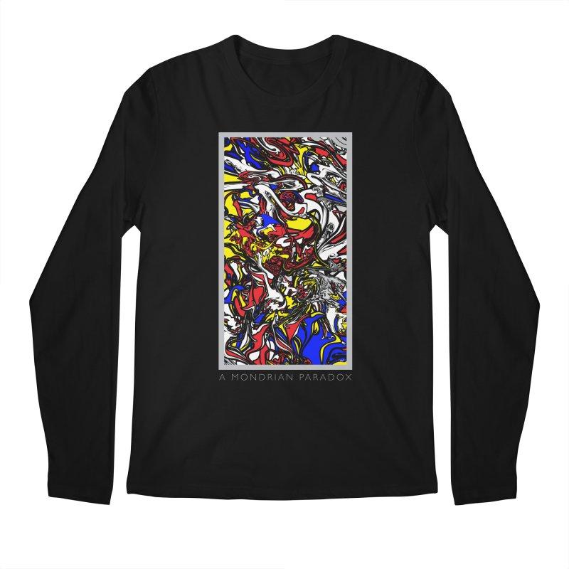 A MONDRIAN PARADOX Men's Regular Longsleeve T-Shirt by mu's Artist Shop