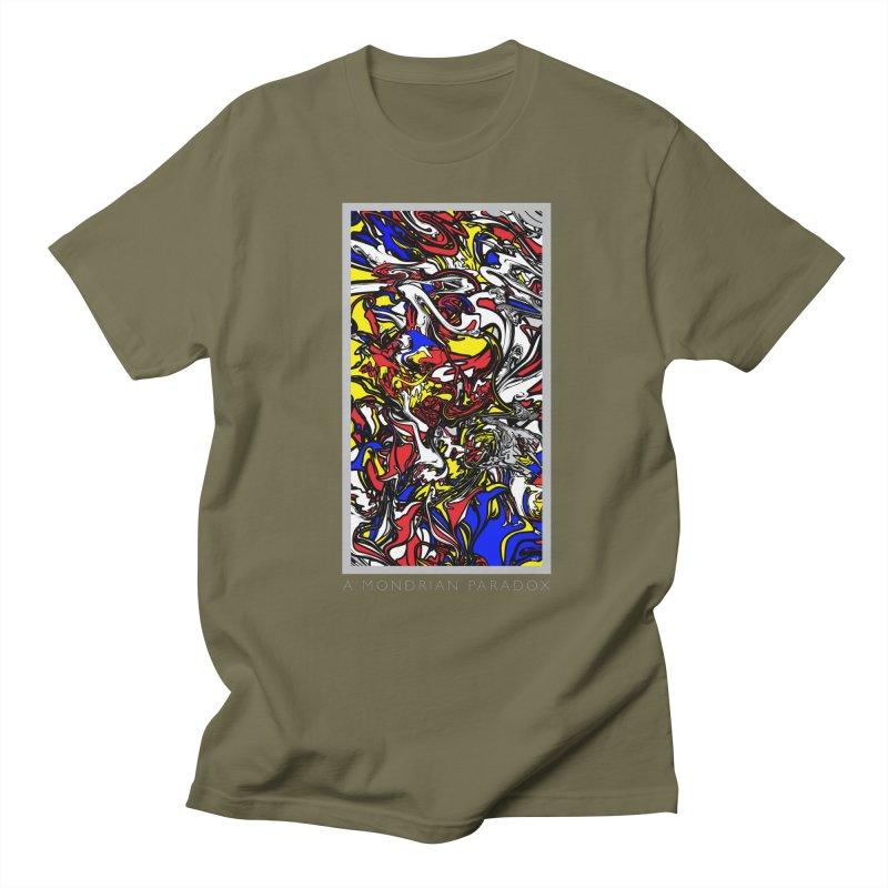 A MONDRIAN PARADOX Women's Regular Unisex T-Shirt by mu's Artist Shop