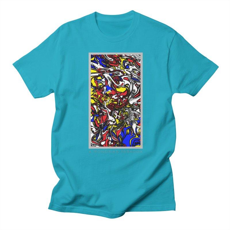 A MONDRIAN PARADOX Men's Regular T-Shirt by mu's Artist Shop
