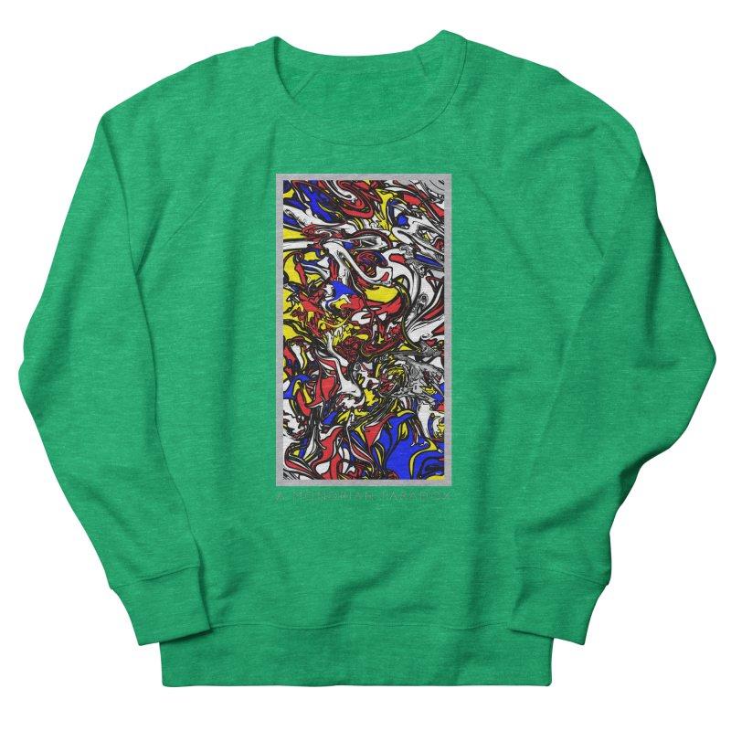 A MONDRIAN PARADOX Women's French Terry Sweatshirt by mu's Artist Shop