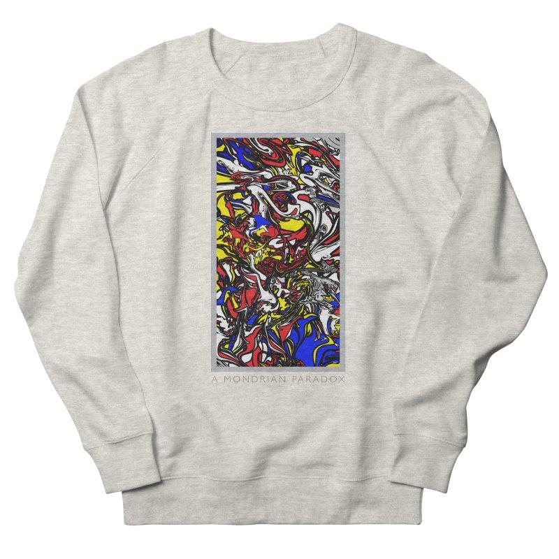 A MONDRIAN PARADOX Men's French Terry Sweatshirt by mu's Artist Shop