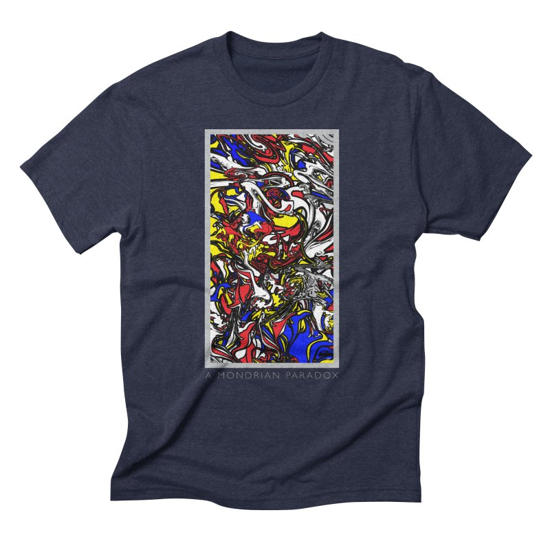A MONDRIAN PARADOX Men's Triblend T-Shirt by mu's Artist Shop