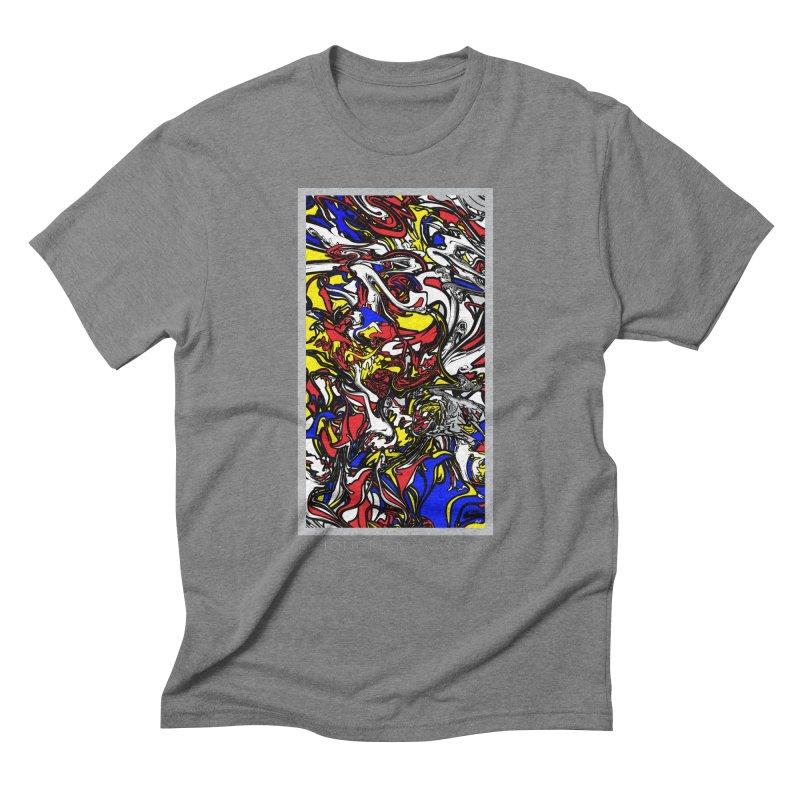 A MONDRIAN PARADOX Men's Triblend T-Shirt by mu's Artist Shop