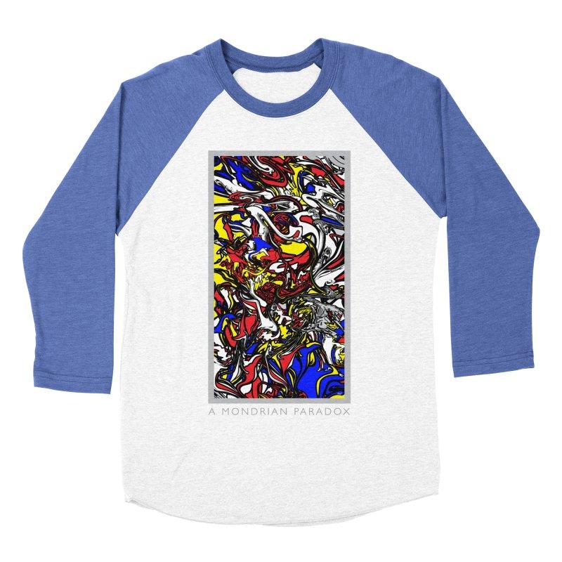 A MONDRIAN PARADOX Men's Baseball Triblend Longsleeve T-Shirt by mu's Artist Shop