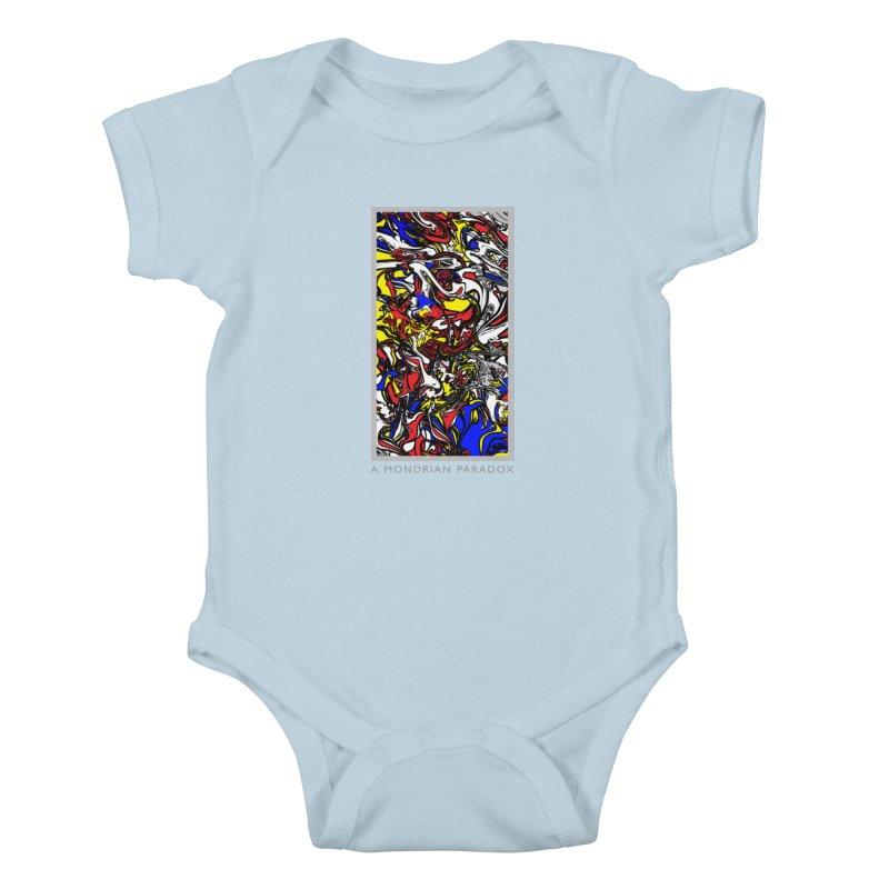 A MONDRIAN PARADOX Kids Baby Bodysuit by mu's Artist Shop