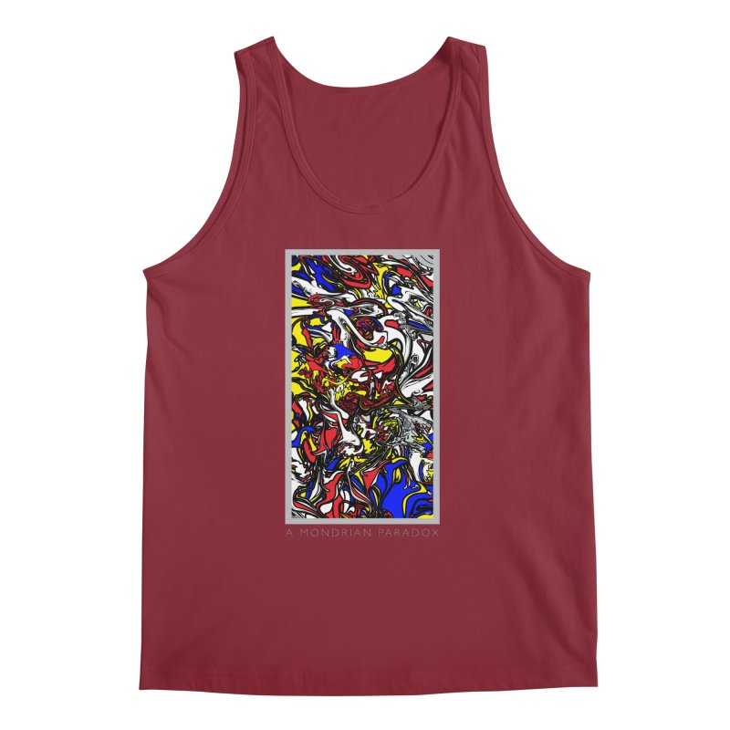 A MONDRIAN PARADOX Men's Regular Tank by mu's Artist Shop