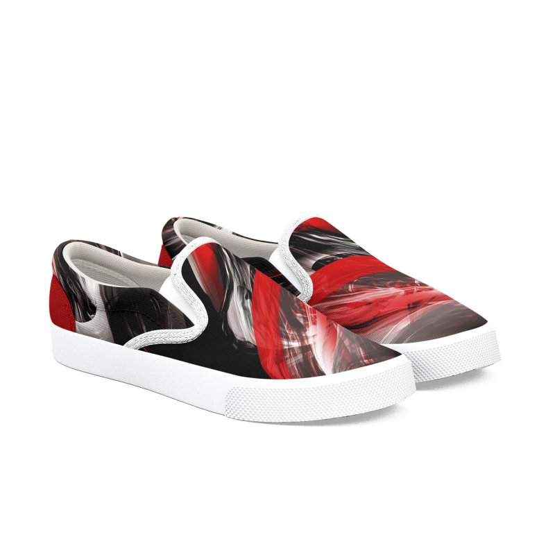 THE SAMURAI STROKE in Men's Slip-On Shoes by mu's Artist Shop