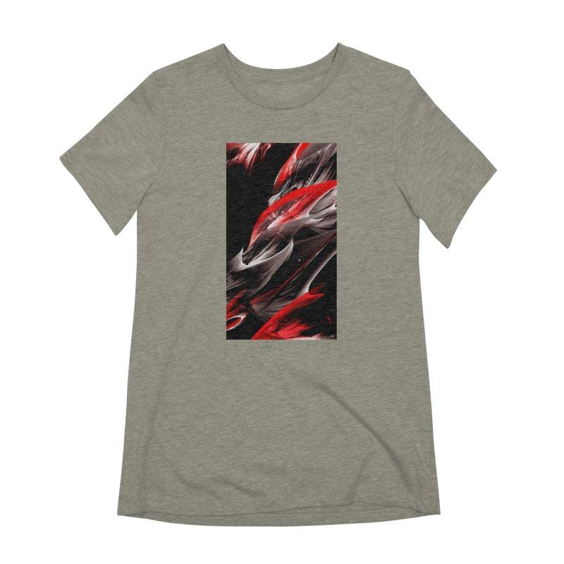 THE SAMURAI STROKE Women's Extra Soft T-Shirt by mu's Artist Shop