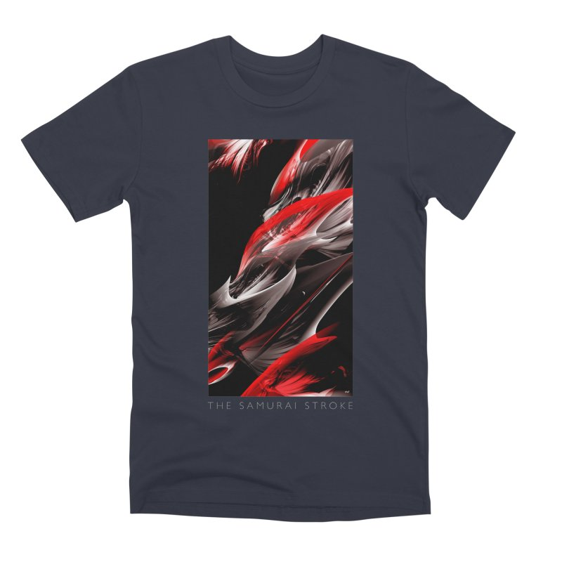 THE SAMURAI STROKE Men's Premium T-Shirt by mu's Artist Shop
