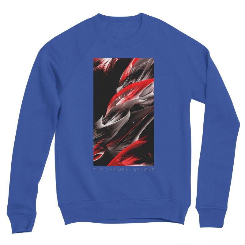 THE SAMURAI STROKE Women's Sponge Fleece Sweatshirt by mu's Artist Shop