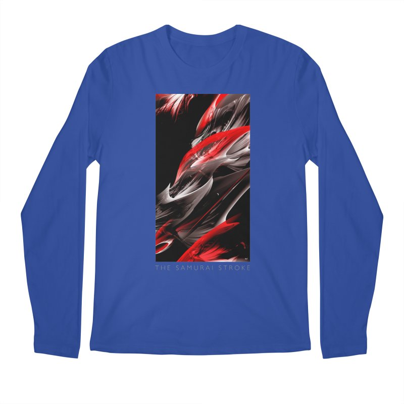 THE SAMURAI STROKE Men's Regular Longsleeve T-Shirt by mu's Artist Shop