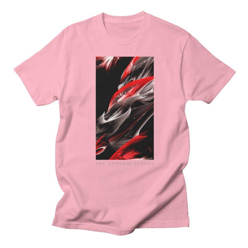 THE SAMURAI STROKE Women's Regular Unisex T-Shirt by mu's Artist Shop
