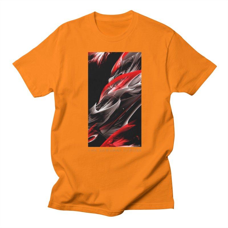 THE SAMURAI STROKE Men's Regular T-Shirt by mu's Artist Shop