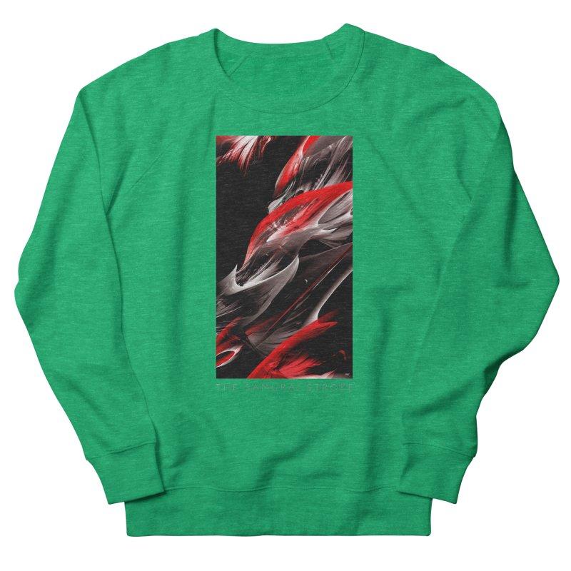 THE SAMURAI STROKE Women's French Terry Sweatshirt by mu's Artist Shop