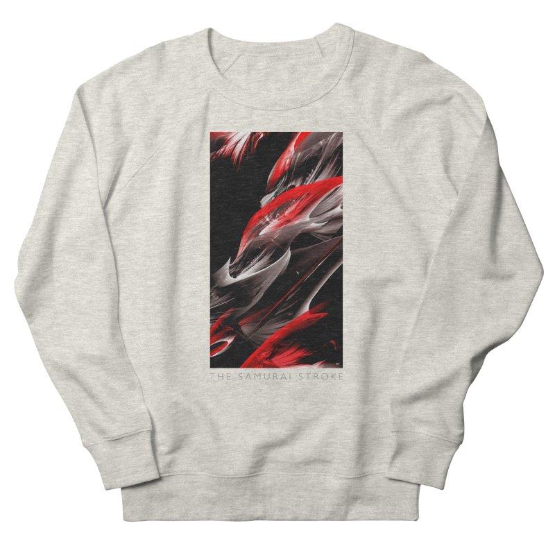 THE SAMURAI STROKE Men's French Terry Sweatshirt by mu's Artist Shop