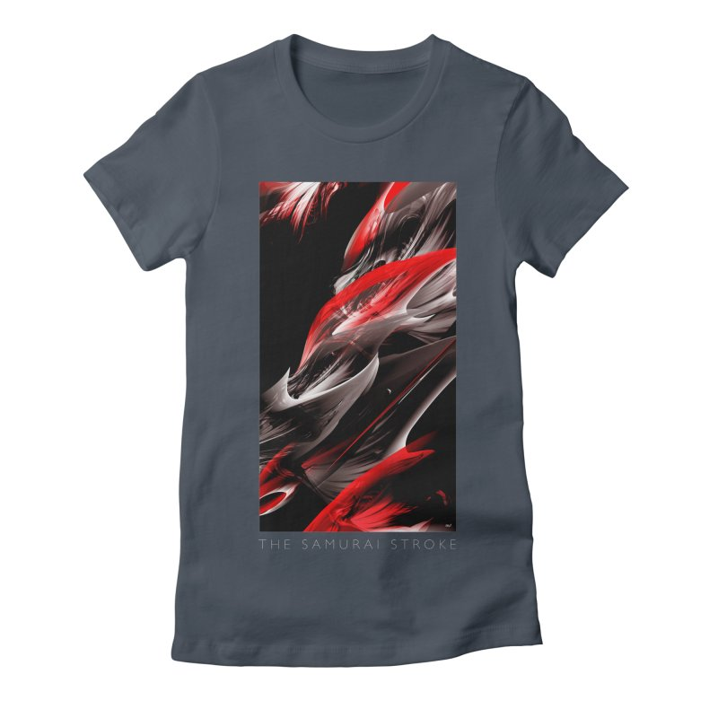 THE SAMURAI STROKE Women's T-Shirt by mu's Artist Shop