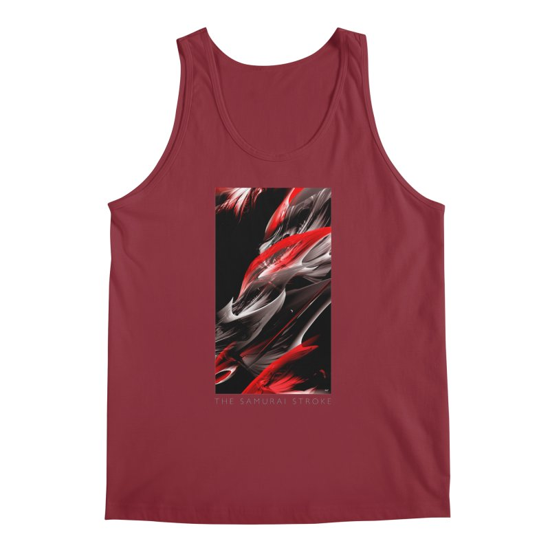 THE SAMURAI STROKE Men's Regular Tank by mu's Artist Shop