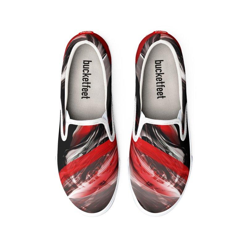 THE SAMURAI STROKE Women's Shoes by mu's Artist Shop