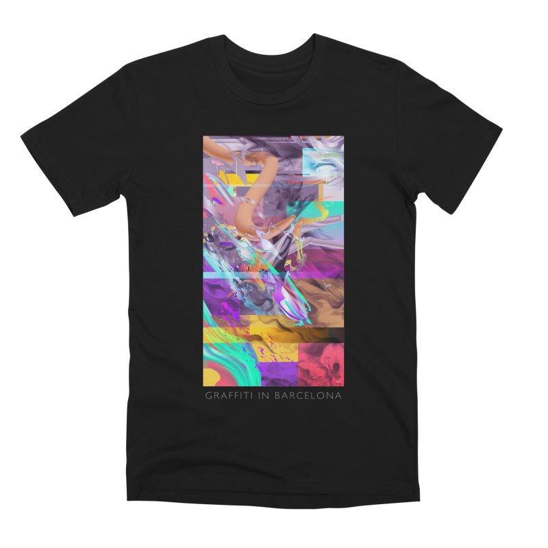 GRAFFITI IN BARCELONA Men's Premium T-Shirt by mu's Artist Shop