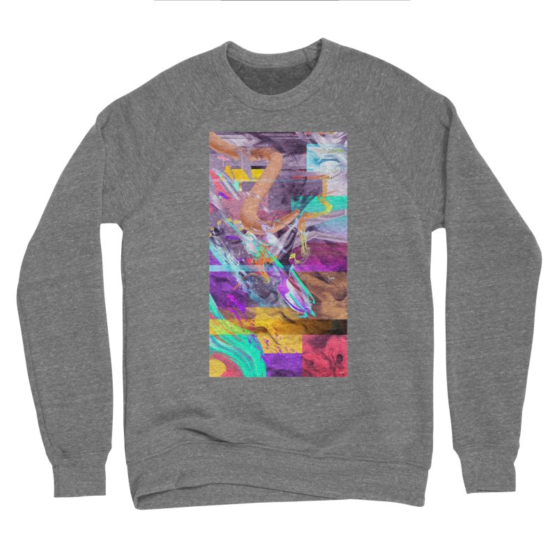 GRAFFITI IN BARCELONA Men's Sponge Fleece Sweatshirt by mu's Artist Shop