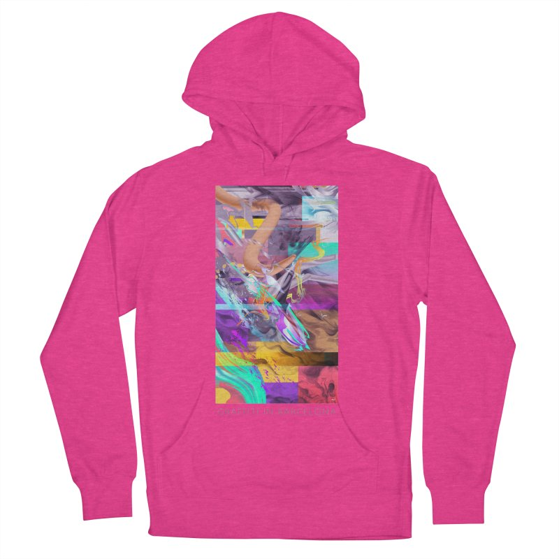 GRAFFITI IN BARCELONA Men's French Terry Pullover Hoody by mu's Artist Shop