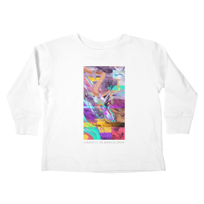 GRAFFITI IN BARCELONA Kids Toddler Longsleeve T-Shirt by mu's Artist Shop