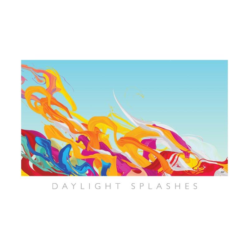 DAYLIGHT SPLASHES Kids Baby T-Shirt by mu's Artist Shop