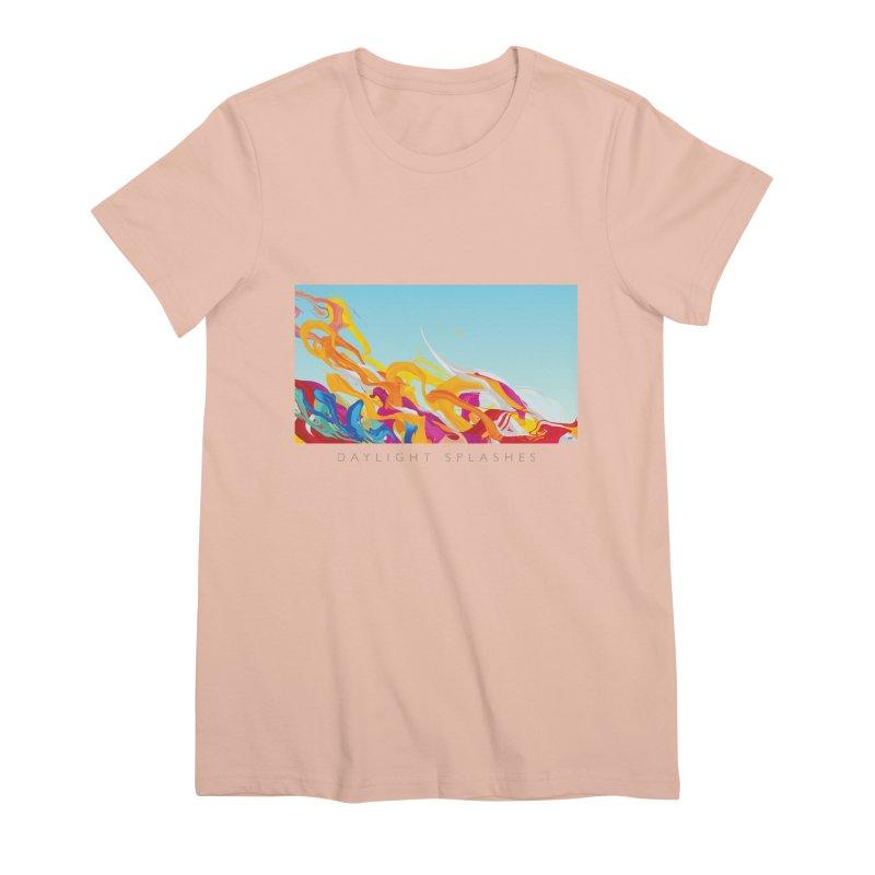 DAYLIGHT SPLASHES Women's Premium T-Shirt by mu's Artist Shop