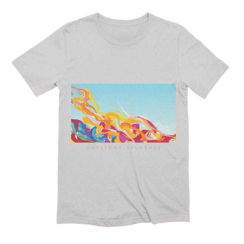 DAYLIGHT SPLASHES Men's Extra Soft T-Shirt by mu's Artist Shop